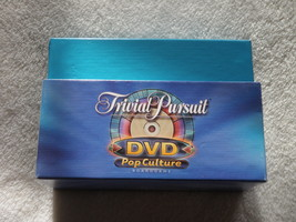 Vintage 2003 TRIVIA PURSUIT DVD POP CULTURE Game Cards With Box ONLY - $14.01