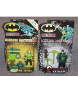 Batman Mission Masters Batman & Mr. Freeze Figures New In The Packages - $29.99