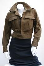Vintage Dutch Army Wool Ike jacket coat Eisenhower cropped field militar... - $30.00+