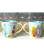 Starbucks HAWAII Surfboard Mug New Bone China 10oz - 2010 NEW Unused Multiples