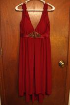 Dressbarn Burgundy Red Dress - Size 8 - $19.99