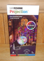 GEMMY Christmas MULTI-COLOR Kaleidoscope LED Light Show Projector New Se... - £16.69 GBP