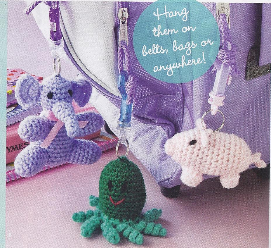 Cute Cat & Mouse Afghan Crochet Pattern + the entire Magazine~Good Condition!