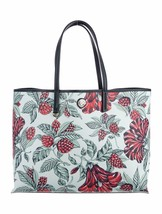 Tory Burch Cameron Tote Green Acre Oversized Floral - $222.75
