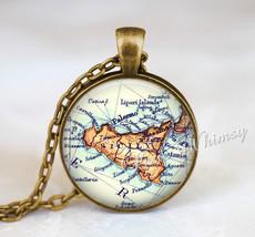 SICILY MAP Necklace, Sicily Pendant, Sicily Map Pendant, Sicily Keychain... - $9.95