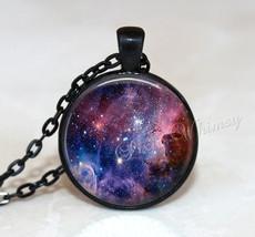CARINA NEBULA Necklace, Nebula Pendant, Galaxy Necklace, Galaxy Pendant,... - $9.95