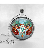 ARIES Necklace, Aries Pendant, Aries Jewelry, Astrology, Zodiac, Constel... - $12.95