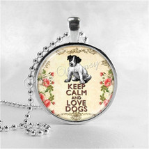 DOG Necklace, Dog Lover Gift, Dog Owner Gift, Puppy Necklace, Dog Pendan... - €11,38 EUR