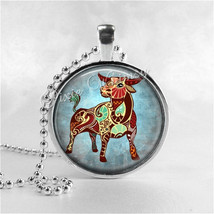 TAURUS Necklace, Taurus Pendant, Taurus Jewelry, Astrology, Zodiac, Cons... - €11,38 EUR