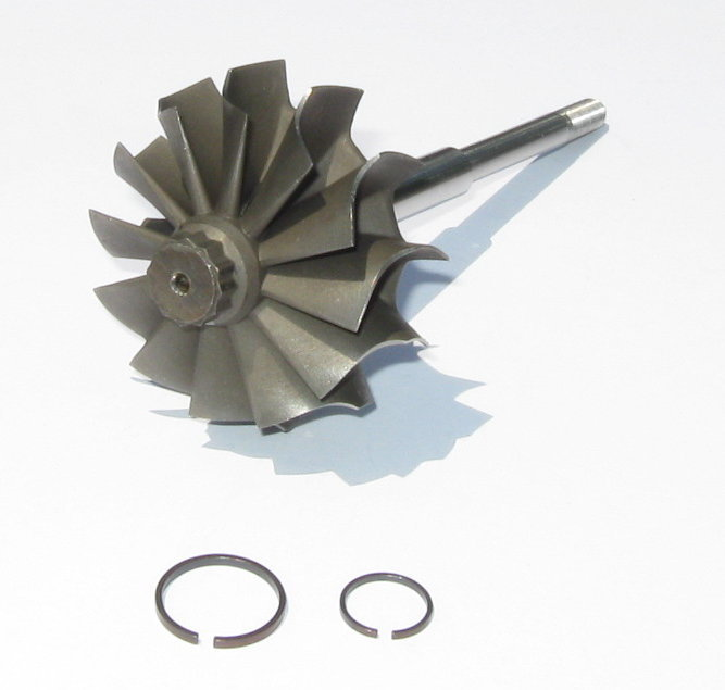 Turbine wheel and shaft for Mitsubishi TD05H 16G 18G turbochargers 49.00/56.00