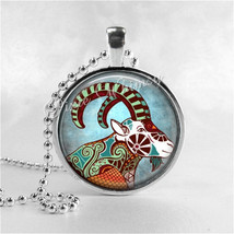 CAPRICORN Necklace, Capricorn Pendant, Capricorn Jewelry, Astrology, Zod... - $12.95
