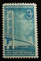 1958 3c Mackinac Bridge, Michigan Scott 1109 Mint F/VF NH - $0.99