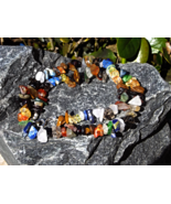 Mixed Semi Precious Stone Unisex Healing Necklace 17 Inch - $30.00