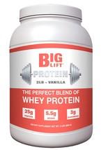 Big Lift Nutrition Protein Supplement, Vanilla, 2 Pound - $28.99
