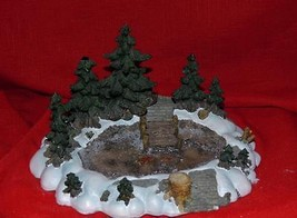 DEPT 56 - ACCESSORY - PINE POINT POND-MINT IN BOX - $18.68