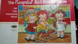 Campbell Soup Kids Picture Puzzle Super Marketi... - $18.68