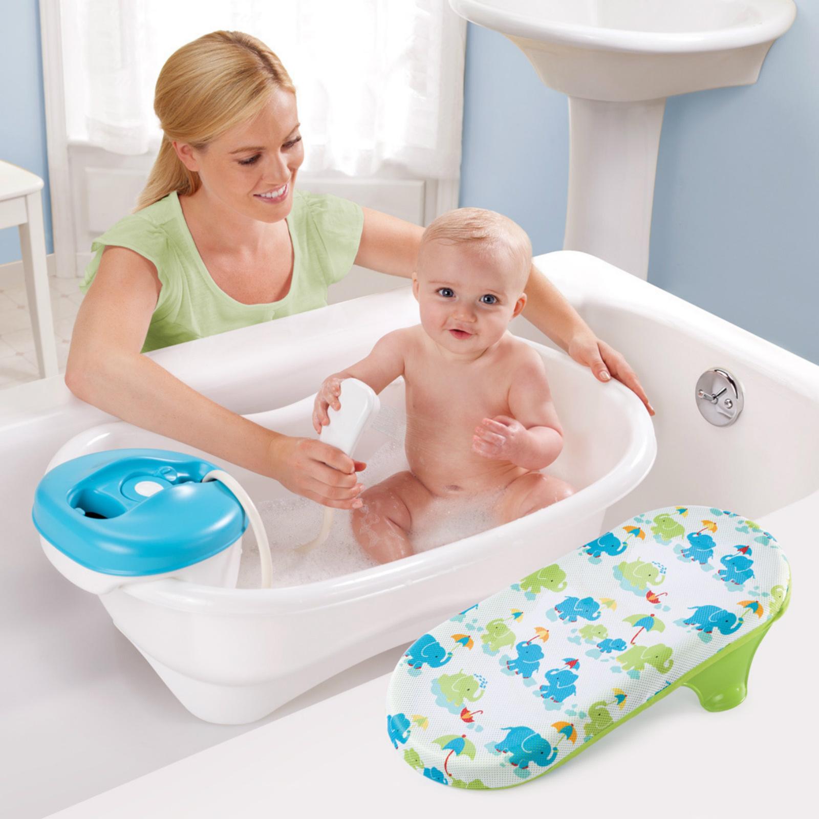 Baby Shower Tub Seat For Newborns Sling Wash Spa Summer Center ...
