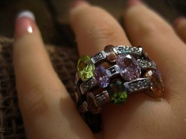 Haunted Ring 10 Ilmu Khodam Angelic positive spirits  - $70.00