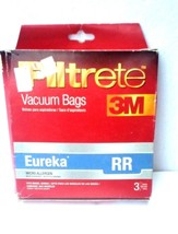 Vacuum Cleaner Bags Eureka Type RR Filtrete 3M 3 Bags 67704A  - $153,12 MXN
