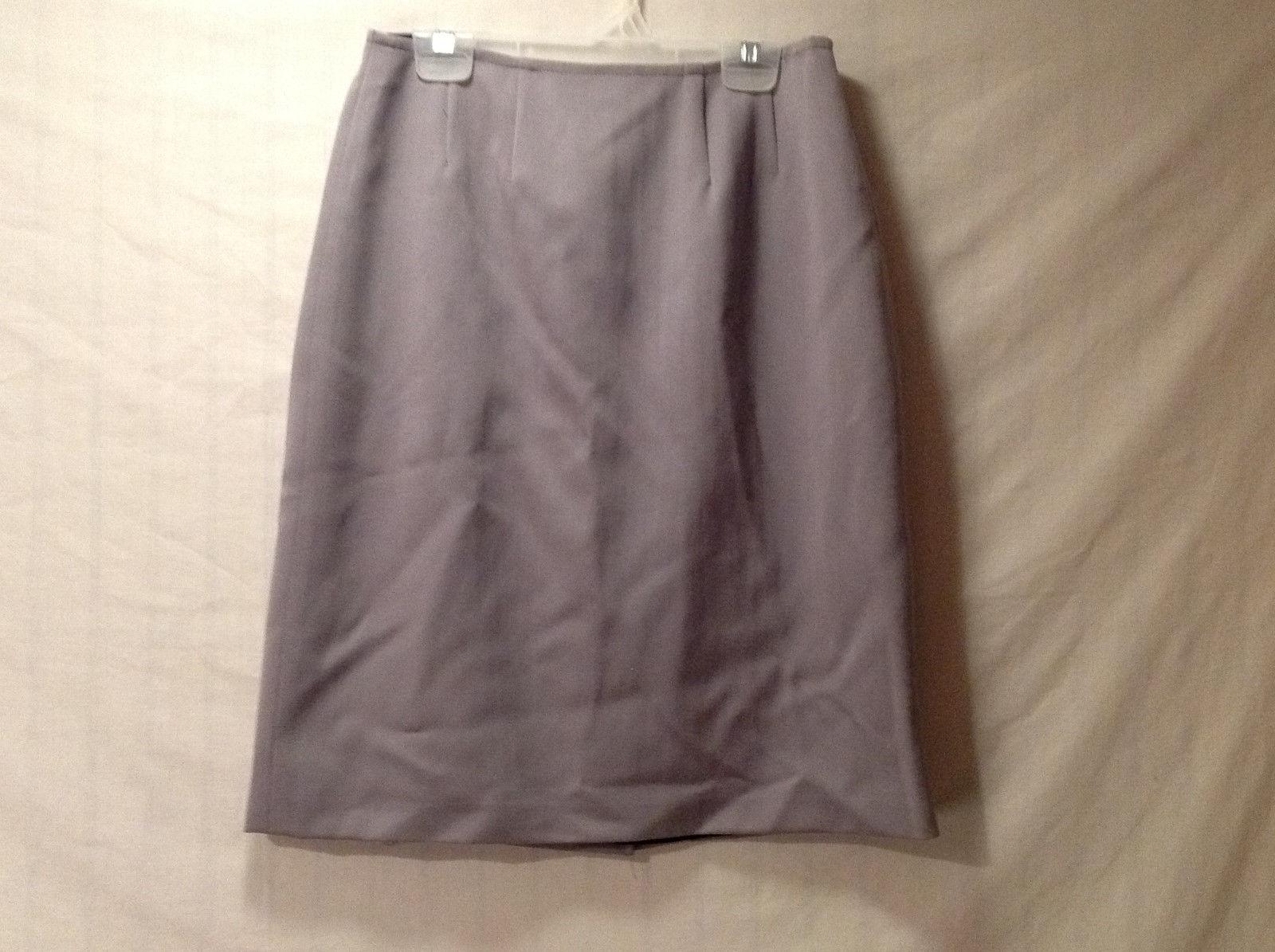 Annie Walwyn Jones Women's Size S Pencil Skirt Lavender w/ Seam Detail Waist