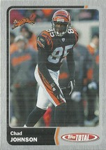 2003 Topps Total Silver #226 Chad Johnson - $0.75