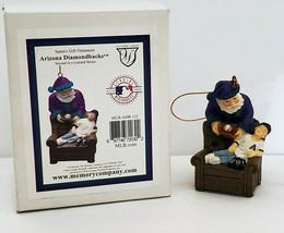 "Arizona Diamondbacks Santas Gift Christmas 3"" Dbacks Ornament Memory Com... - $10.18"