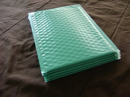 100 Teal 4x8 Bubble Mailer Self Seal Adhesive Envelopes Padded Shipping ... - $31.75