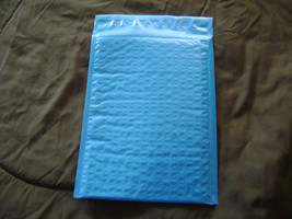 100 Blue 4x8 Bubble Mailer Self Seal Adhesive Envelopes Padded Shipping ... - $31.75