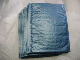 25 Steel Blue 8.5x11 Bubble Mailer Self Seal Padded Shipping Bag Envelop... - $26.95