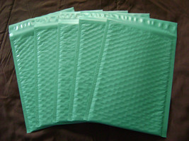 25 6x9 Teal Bubble Mailer Self Seal Adhesive Envelope Protective Color P... - $14.45