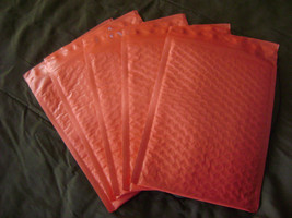 25 6x9 Red Bubble Mailer Self Seal Adhesive Envelope Protective Color Pa... - $28.95