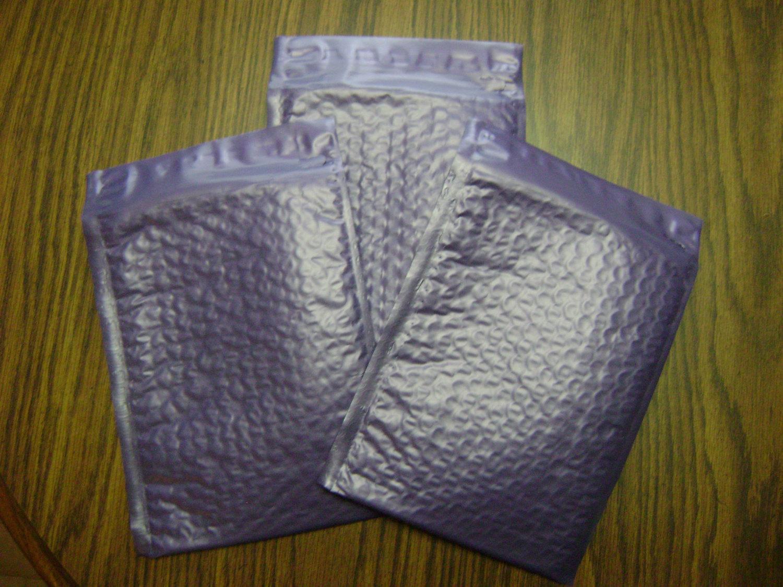 100 6x9 Deep Lavender Bubble Mailer Self Seal Adhesive Envelop Protective Color