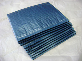 50 6x9 Steel Blue Bubble Mailer Self Seal Adhesive Envelope Protective C... - $28.95