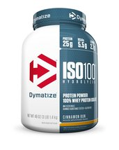Dymatize Nutrition ISO-100 Pre-Workout Supplement, Cinnamon Bun, 3 Pound... - $67.08