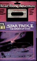 STAR TREK II THE WRATH OF KHAN Book Cassette 1983 NIP - $15.99