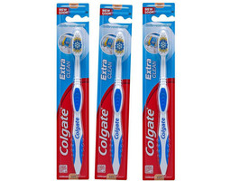 Colgate Extra Clean Toothbrush, Soft Full Head - Colors Vary (Pack of 5) - $5.99