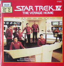 STAR TREK IV THE VOYAGE HOME Book Cassette 1986 NIP - $15.99