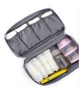 Womens Cosmetic Bag al Travel Pockets Handbag S... - $14.87