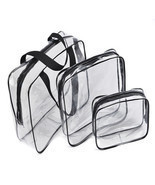 3pcs/set Travel Essential Transparent Waterproo... - $15.59
