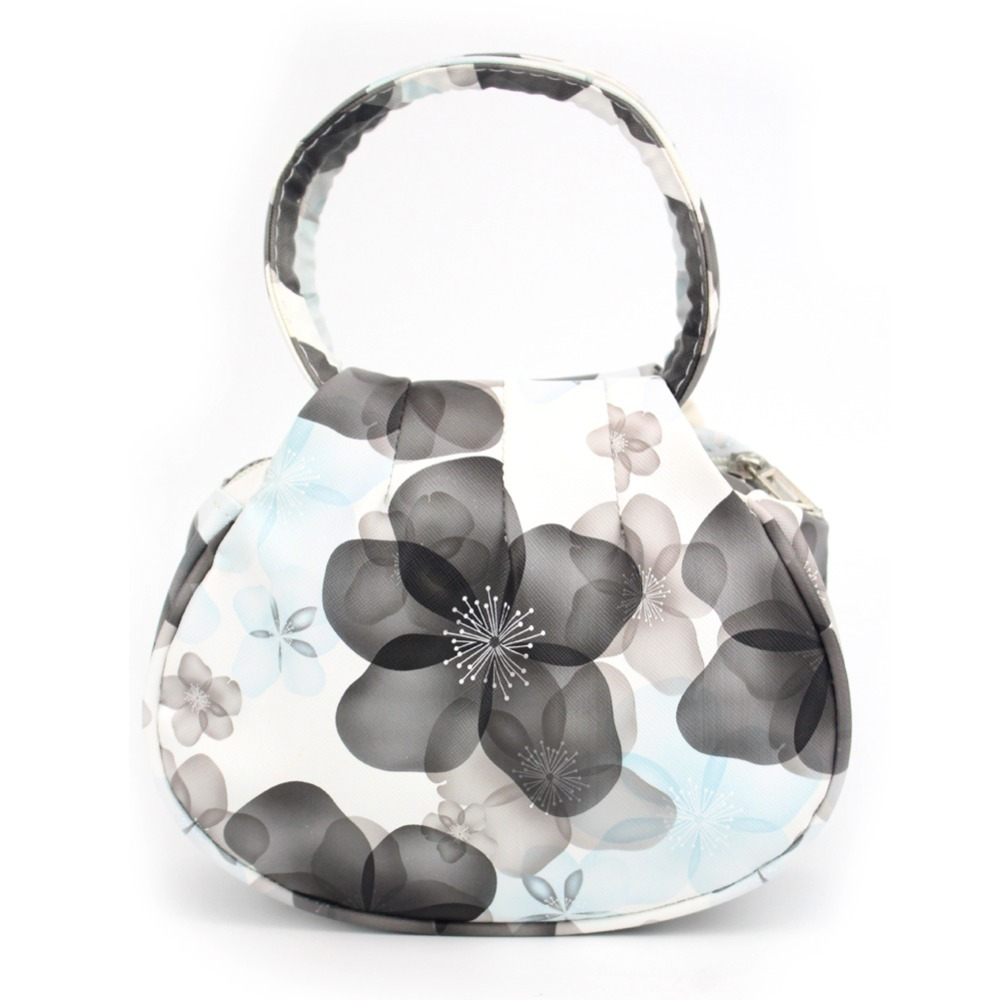 Floral Print er Handbags Women Leather Handbag WeddTote Bag Makeup Bags Sac a ma