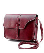 bag flap small bag shoulder leather woman messenger bags simple corss bo... - $19.64