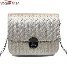 Mini Woven Pattern Shoulder Bag Women Messenger Bags PU Leather Handbags... - ₨1,397.71 INR