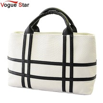 black and white hit color shoulder bag pu leather crocodile pattern squa... - ₨2,777.87 INR