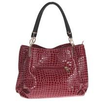 Sac Crocodile Alligator Leather Women Handbag Purse Shoulder Bag  - $43.98