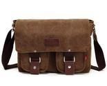 En laptop shoulder messenger bag new fashion men s vintage canvas school messenger thumb155 crop
