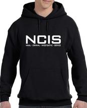 NCIS LOGO BLACK HOODIE SWEATSHIRT - $31.95+