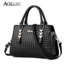 Trend women handbag knitted womens shoulder bag Charm weavmessenger bag top-tote - $58.42