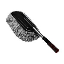 PANDA SUPERSTORE Cleaning Supplies Retractable Car Duster Dust Brush,Black