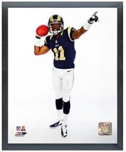"Tavon Austin St. Louis Rams 2013 Rookie - 11"" x 14"" Glassless Sports Frame - $633,98 MXN"