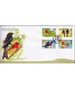 bird Seychelles 2008 WWF ^^^ Aldabra Red-headed... - $4.04